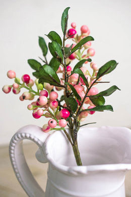 Pink Artificial Berries