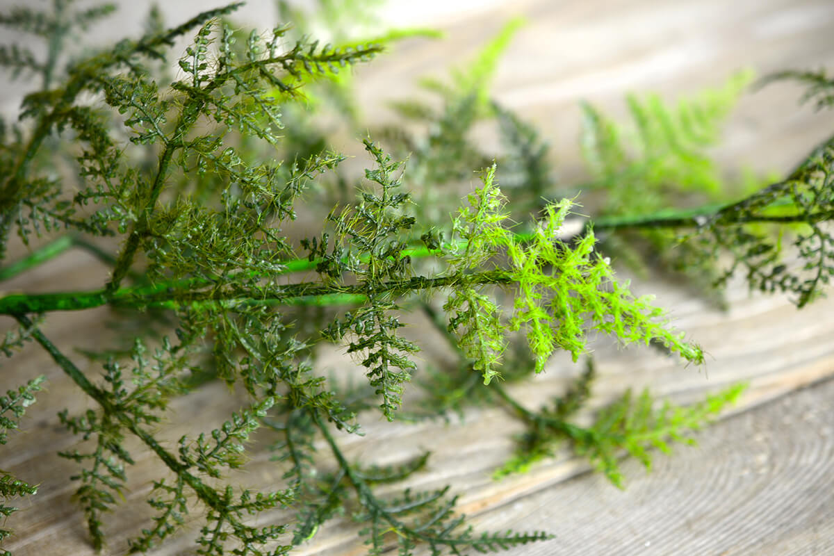 Deluxe Natural Touch Fern Garland 4 FT