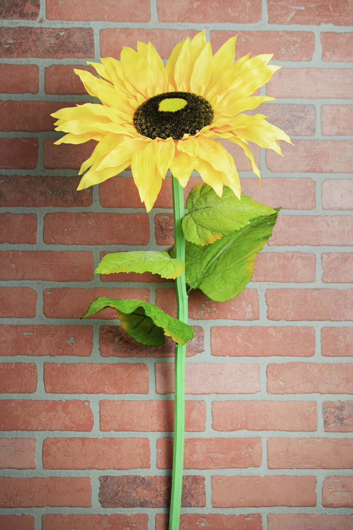 Giant Yellow Sunflower Stem 37in