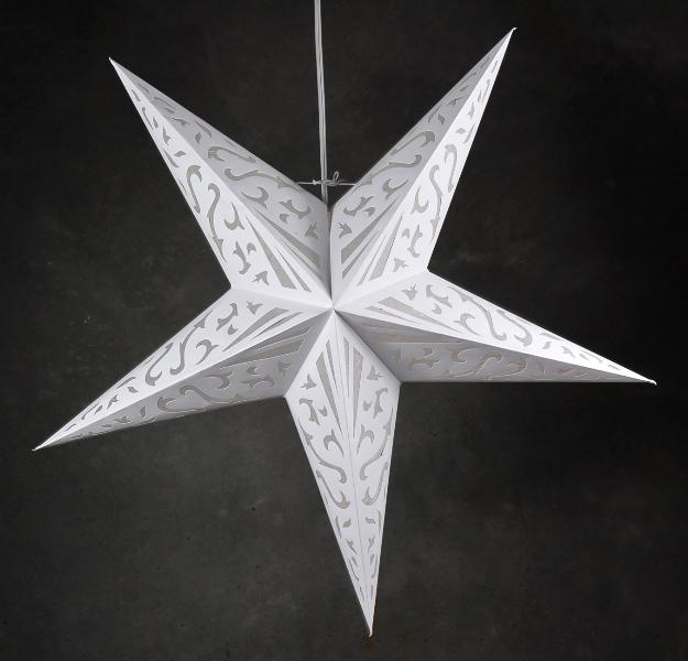 Quot atomic white star lanterns