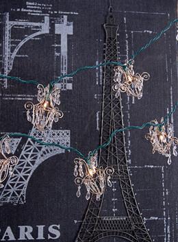 Mini Chandelier String Lights 10ct 60in