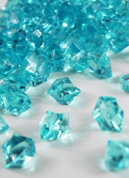 Table Scatter Gems Aqua | .75 lbs
