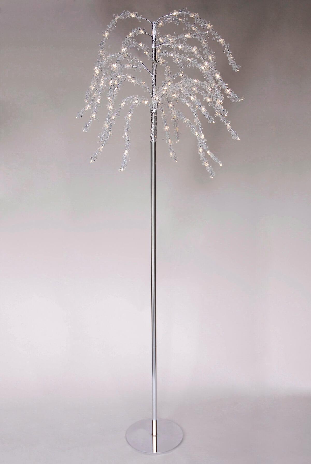 Crystal Trees 7.5FT LED Lights, Event Decor