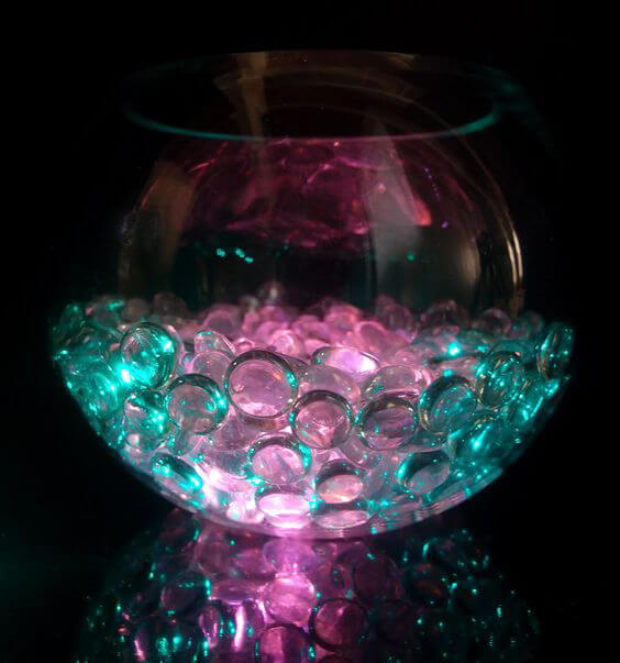 10 Pink Floralytes   Decorative Accent Lighting