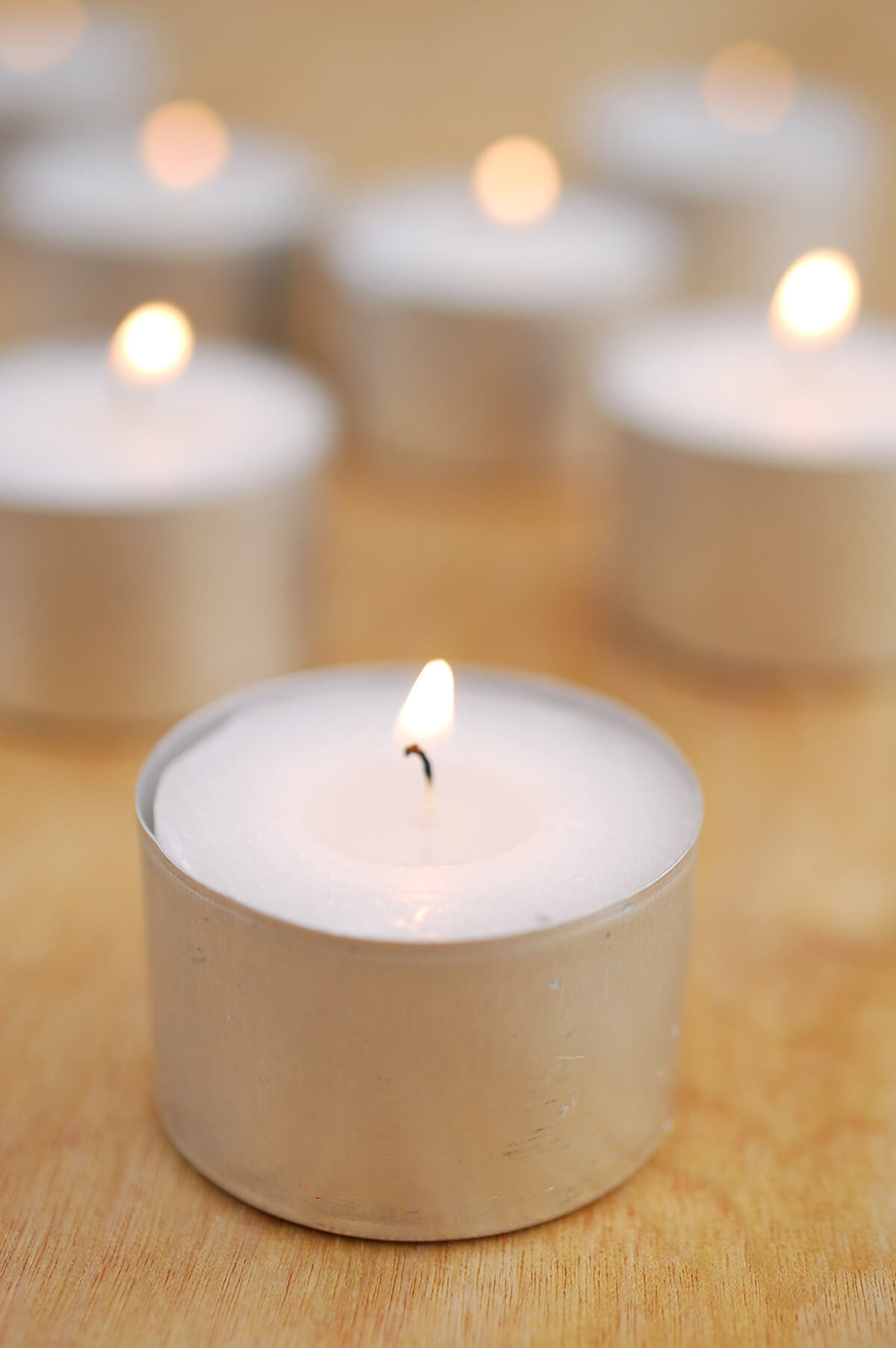 8 Hour Tealight Candles (50 candles)