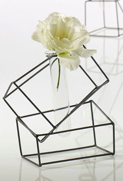4 Structure Stand with Test Tube Vases