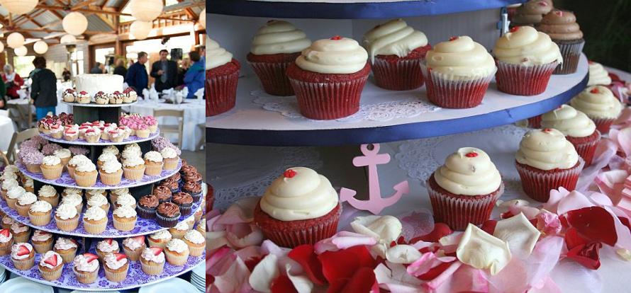 The Original Cupcake Tree - Large Round (holds up to 300 cupcakes) Cupcake Stand