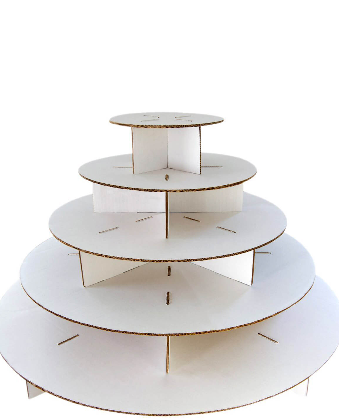 How To Make A Cake Stand From Cardboard