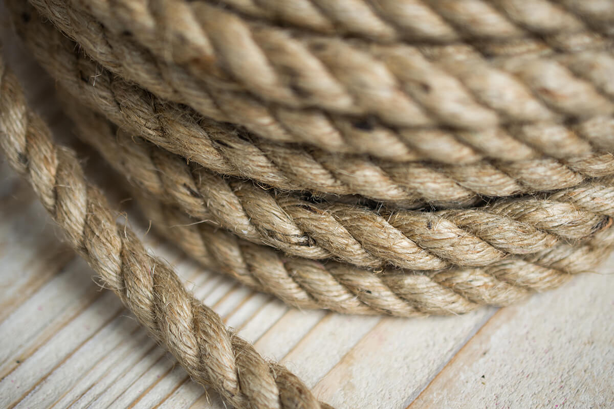 Natural Jute Rope 1 2 Inch Thick X 50 Feet