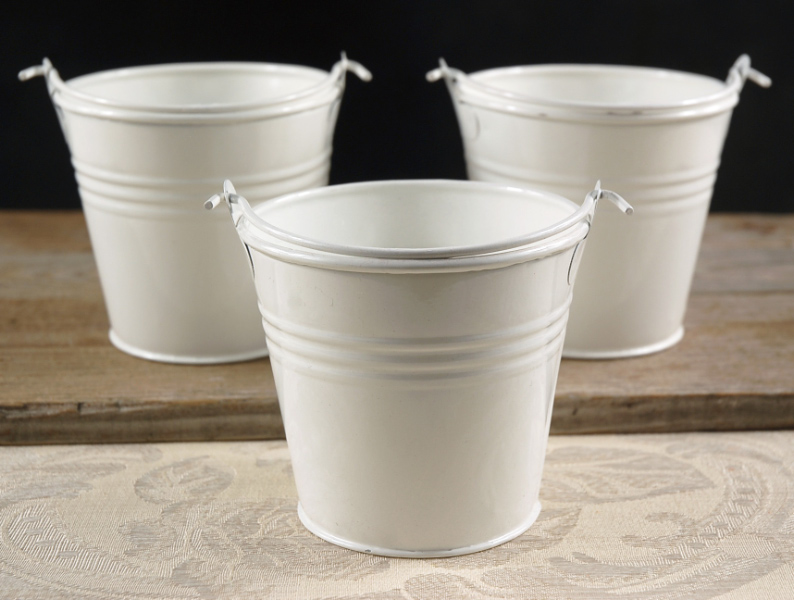 tiny-white-buckets-4-pails-with-handle-8 Tall Decorative Vases With Flowers on tall flower pot, tall white vase, tall metal flower vases, tall decorative metal vase, tall flower stand, tall copper vase, tall decorative lamp,