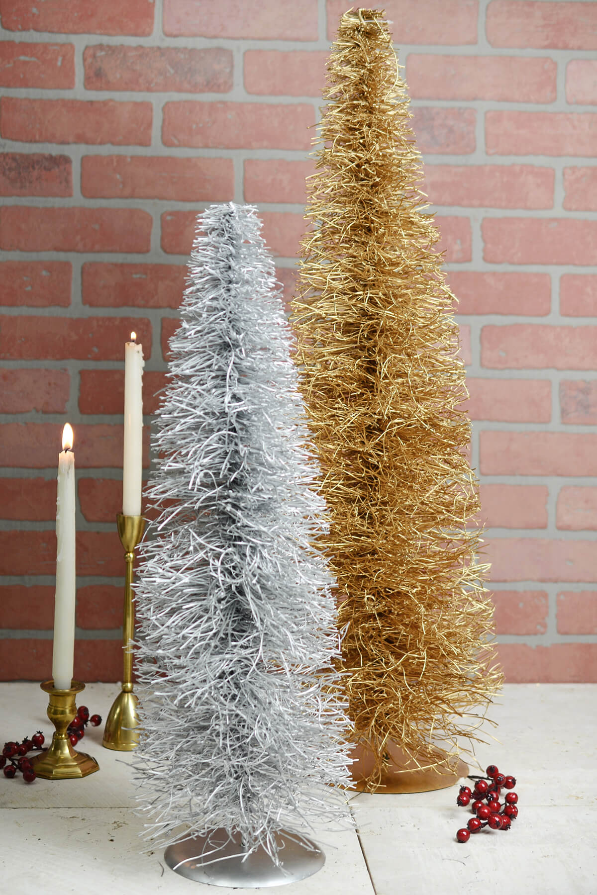 Artificial Twig Christmas Trees