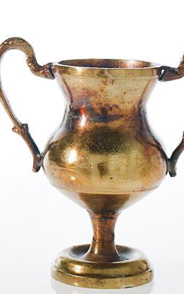 Champion Urn Trophy Gold Metal Vase 11 Quot