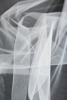 """Tulle Bridal White 54"""" Wide  x 40 Yards"""
