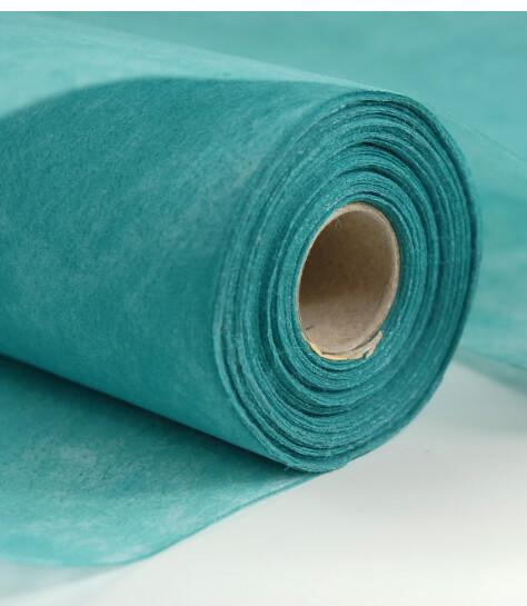 """Turquoise Filato Paper Table Runner Roll 20"""" x 66 FT"""