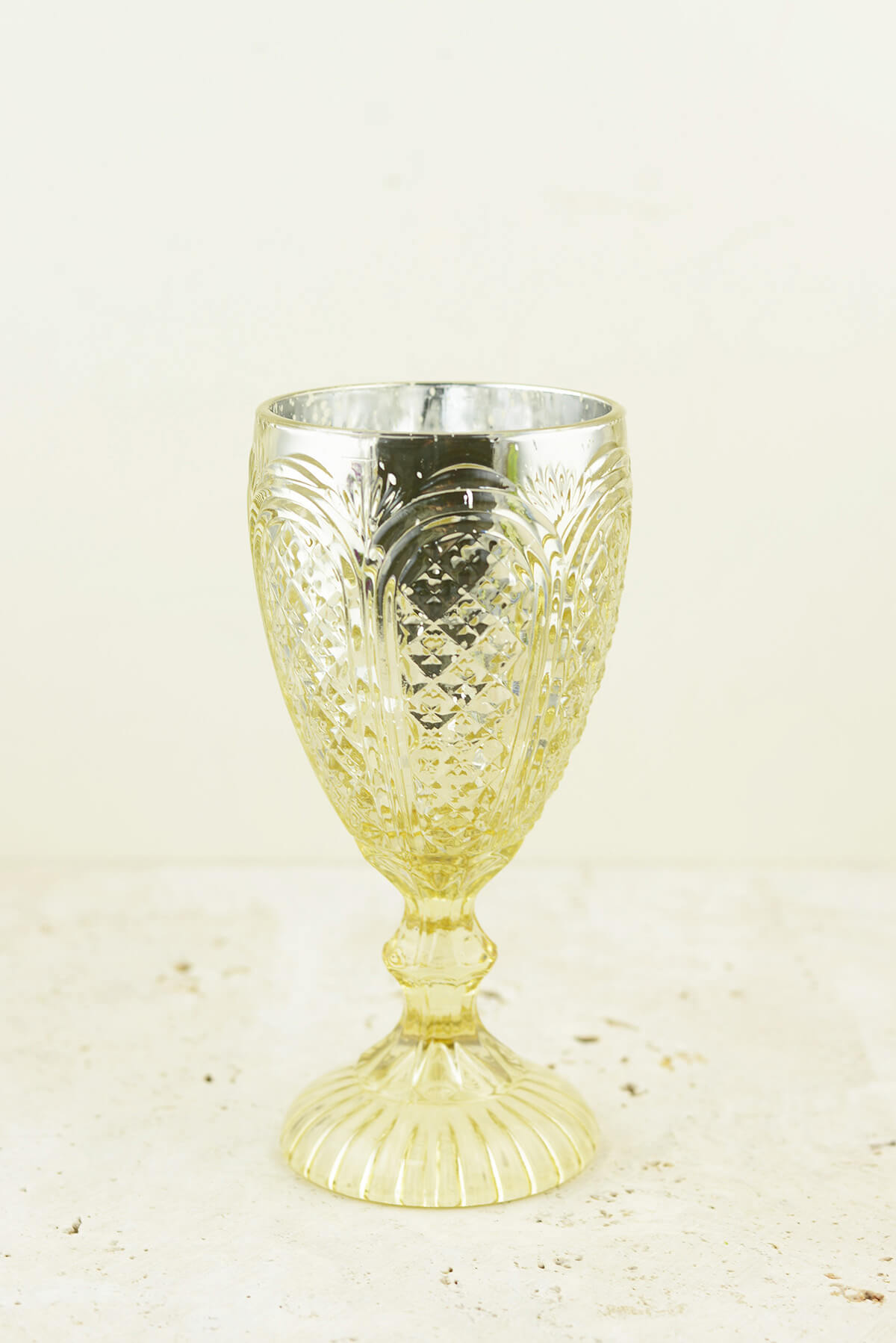 Kingston Gold Compote Vase