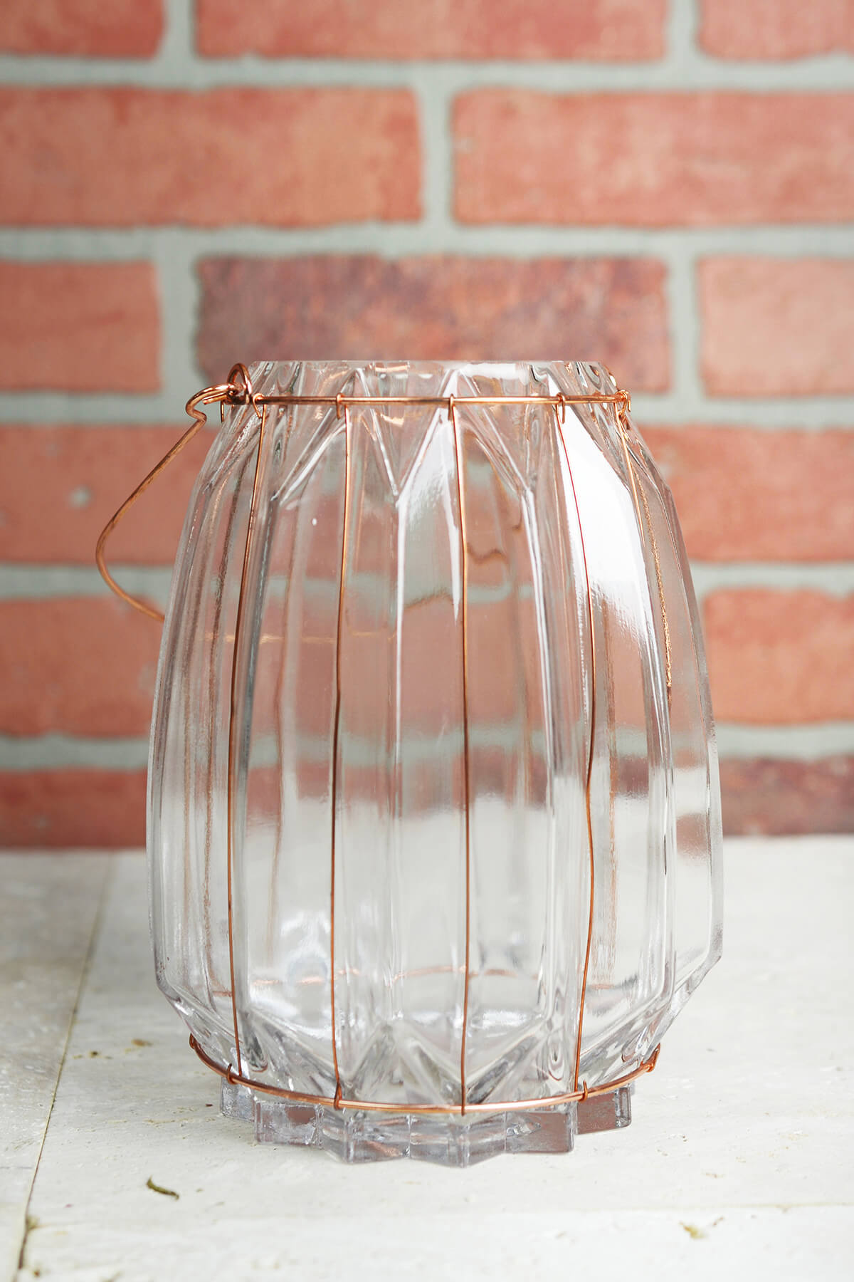Chico Glass Amp Copper 7 5in Wire Vase Amp Candle Holder