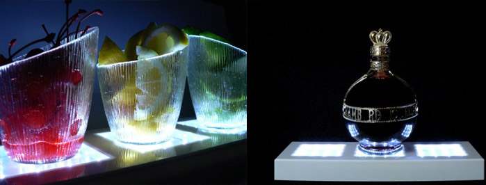 """Vase Lights Super Bright Square LED 5"""" x 13"""" Rectangle"""