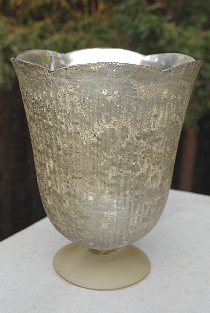 Antique Gold Neeta Vase 11in