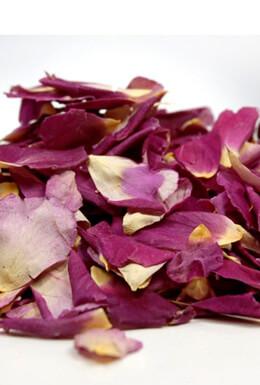 Flower Petals Freeze Dried Purple Violet Je T'aime Rose Petals   (5 cups)