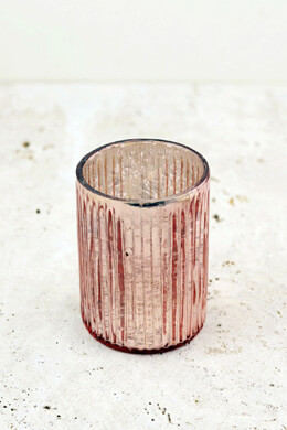 Blush Romance Votive Candle Holder