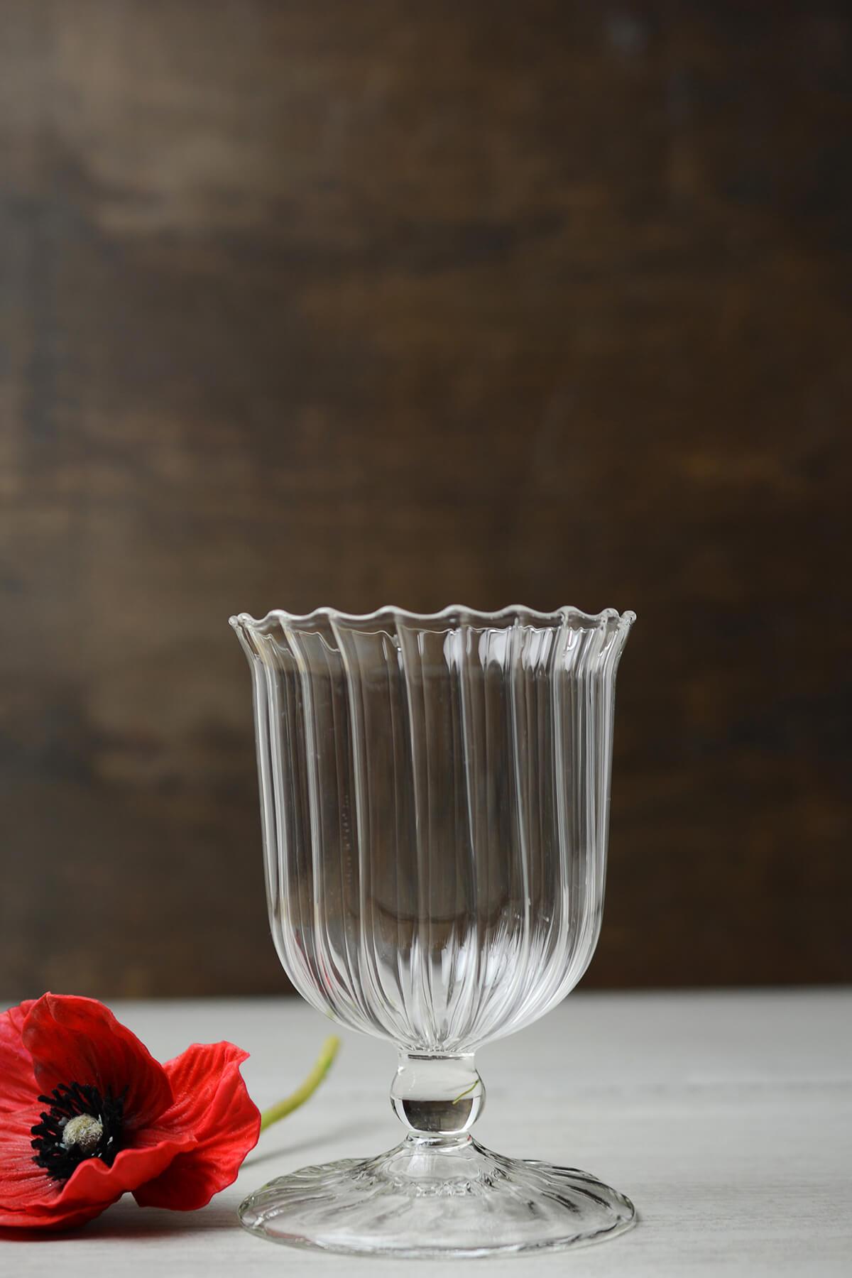 April Clear Glass Vase Amp Votive Holders