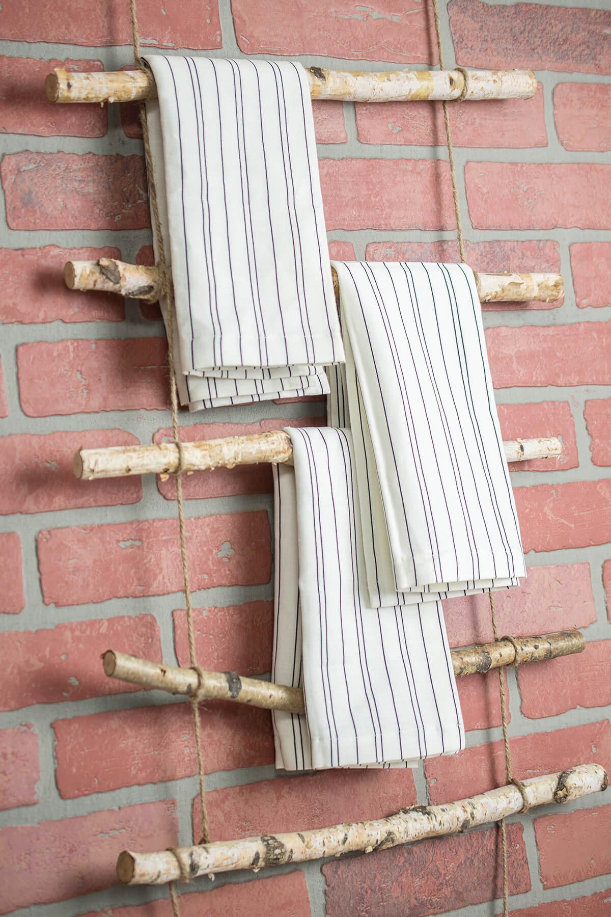 Birch Branch Rustic Rope Ladder