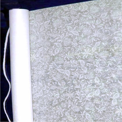 French Lace Wedding Aisle Runner 75 Soft White