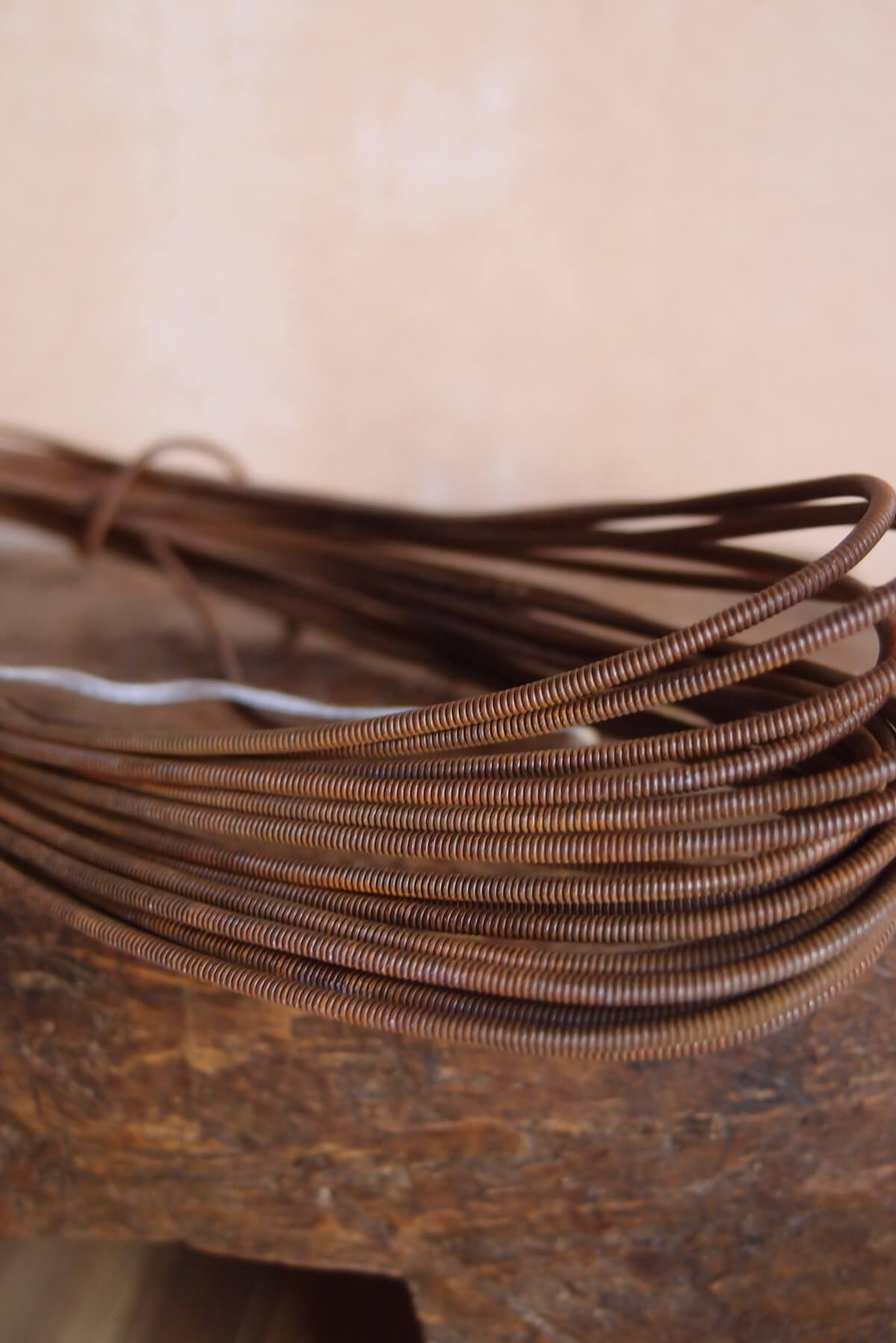 Rusty Wire Coil #24 Gauge $2.99