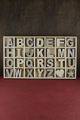 """Alphabet Letter Set, 2"""" Letters"""