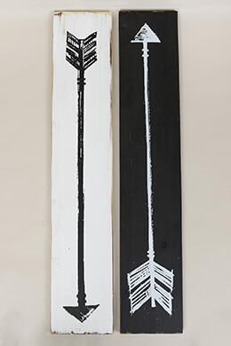 Arrow Signs 31.5x6in (Set of 2)