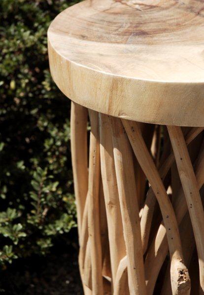 Zuna Natural Driftwood Pedestal 20.5 x 13.5