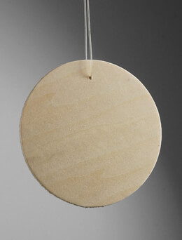 Wood Circles with Holes 3in (Pack of 24)
