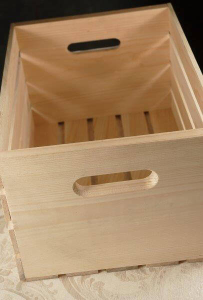 Wood Crate 18 X 12 5