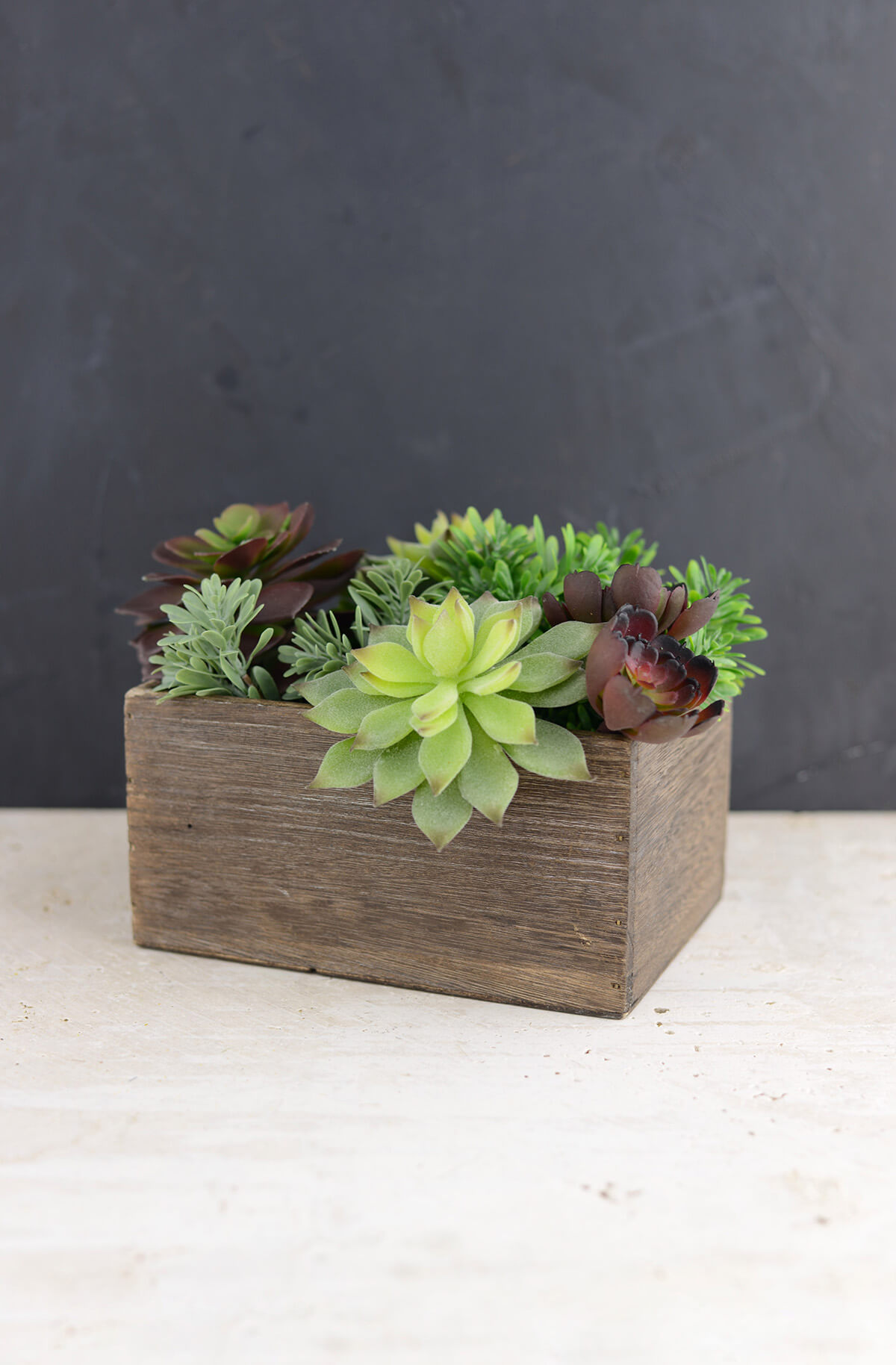 Wood Planter Box 5 5x7 5in