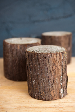 Wood Rounds 4in   (3 pieces)