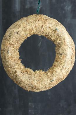 Sphagnum Moss Living Wreath 13 Inch