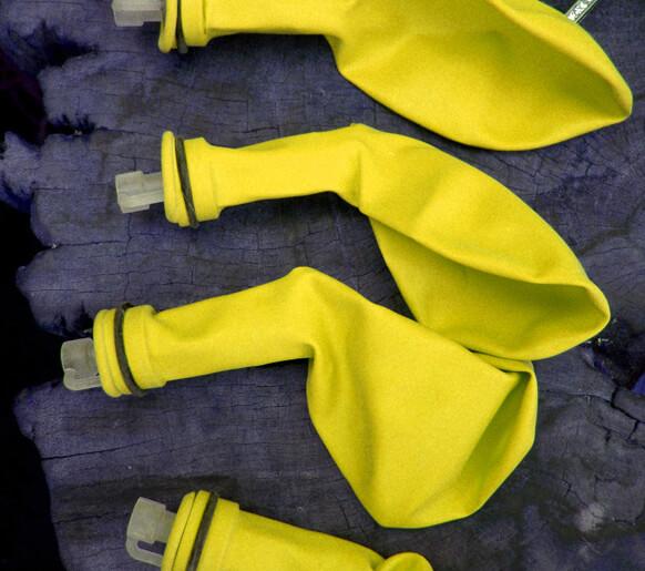 Yellow Balloon Lights Balloon Brites (5 balloons)