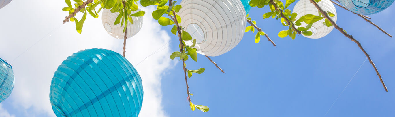 Paper Lanterns & Parasols
